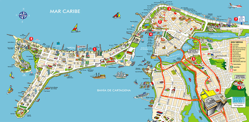 Colombia Enero Febrero 2010 Cartagena